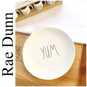BRAND NEW Rae Dunn Large YUM plate